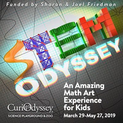 STEM Odyssey with graph paper background