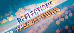 Reflections and Perceptions logo for Exhibits page