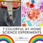 7 colorful science experiments you can do at-home