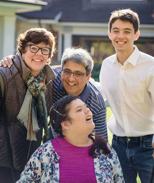 Laurel Miranda and Family