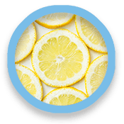 Lemon slice circles